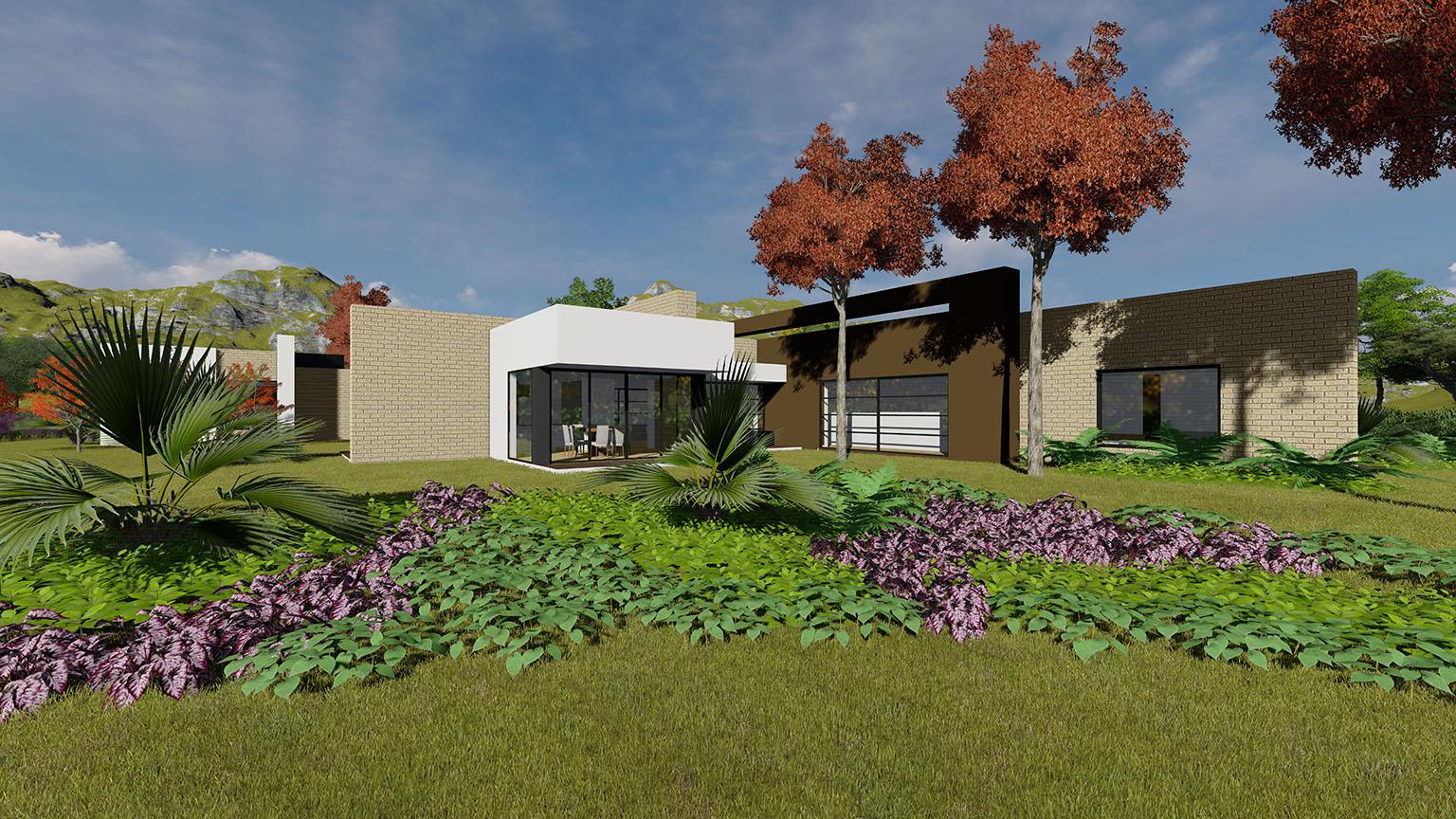 Planos Casa Llano Grande   Camilo Pulido Arquietctos